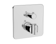 A42291EXP - Suit Built-In Thermostatic Shower Mixer, V-Box-Exposed Part, Chrome