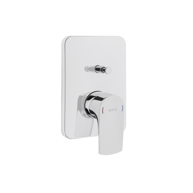 Built-in bath/shower mixer (exposed part)