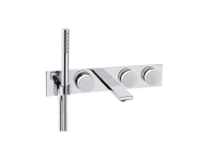 A4231757EXP - Memoria Built-in Bath Mixer (3 Way Diverter)