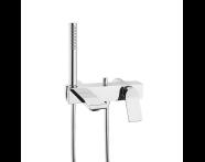 A42334IND - Memoria Bath/Shower Mixer (with Handshower)