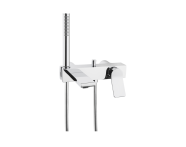 A42334VUK - Memoria Bath/Shower Mixer, Single-Lever, Wall-Mounted