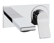 A42345IND - Memoria Built-in Basin Mixer (Exposed Part)