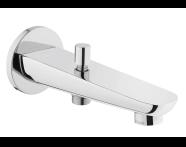 A42392VUK - Z-Lıne Bath Spout, (With Handshower Outlet), Chrome