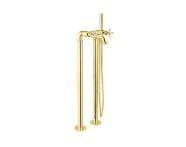A4239823EXP - Juno Bath Mixer (Floor Mounted - with Handshower)
