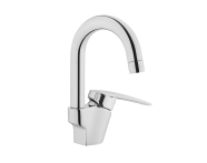 A42418EXP - Dynamic S Basin Mixer (Swivel Spout)
