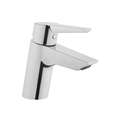 Solid S Basin Mixer, Chrome