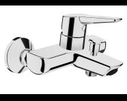 A42444EXP - Solid S Bath/Shower Mixer