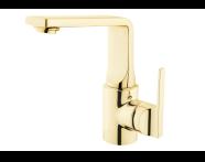 A4246623 - Suit L Lavabo Bataryası  , Altın
