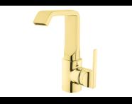 A4246723VUK - Suıt U Basin Mixer, Gold