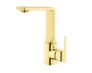 A4247023EXP - Suit Basin Mixer, With Swivel Spout, Gold