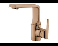 A4248026EXP - Suit Basin Mixer, With Pop-Up, Copper
