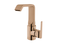 A4248126EXP - Suit Basin Mixer, With Pop-Up, Copper