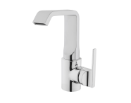 A42481EXP - Suit Basin Mixer, With Pop-Up, Chrome