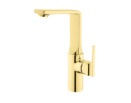 A4248223EXP - Suit Basin Mixer, With Pop-Up-For Bowls, Gold