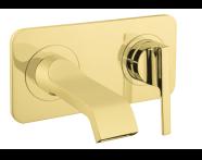 A4248723 - Suit U Ankastre Lavabo Bataryası  (Sıva Üstü Grubu), Altın