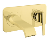 A4248723VUK - Suıt U Built-In Basin Mixer, (Exposed Part), Gold