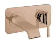 A4248726EXP - Suit Built-In Basin Mixer, Exposed Part, Copper