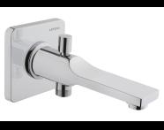 A42489EXP - Suit Bath Spout, With Handshower Outlet, Chrome