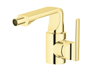 A4249423EXP - Suit Bidet Mixer, With Pop-Up, Gold