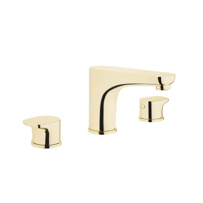 Basin mixer (for 3-hole basins)