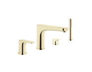 A4253023EXP - Bath mixer (for 4-hole bathtubs-deck mounted with handshower)
