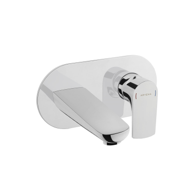 Built-in basin mixer (exposed part)