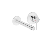 "A42581 - ""Built-In Basin Mixer, Exposed Part - Two Rosette, Chrome"""