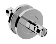 A44266 - Glass Mounted Towel Holder Connector