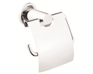A44390EXP - Ilia Toilet Roll Holder (with Cover)