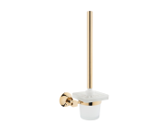 A4442423EXP - Juno WC Brush Holder, Gold