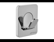 A44493EXP - Somnıa Bathrobe Holder (Single)