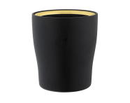 A4487264EXP - Eternity Toothbrush Holder - Black / Gold