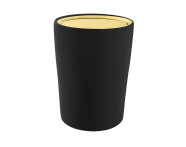 A4487564EXP - Eternity Trash Bin - Black / Gold