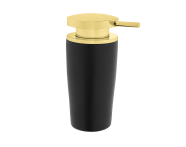 A4487664EXP - Eternity Liquid Soap Dispenser - Black / Gold