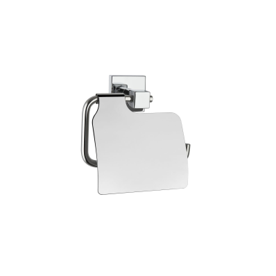 Q-Line Toilet Roll Holder (with Cover)