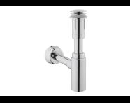 A45154IND - Basin Trap Set,  Chrome