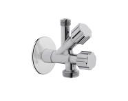 A45245EXP - Interval tap with filter double water inlet- laundry tap