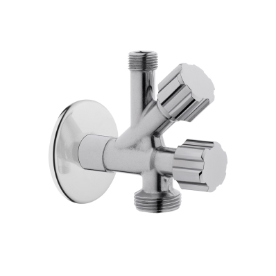 Interval tap with filter double water inlet- laundry tap