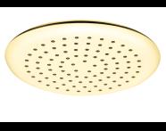 A4563123 - Shine Round Duş Başlığı , Altın