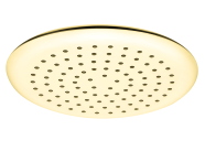 A4563123EXP - Shine Round Showerhead,  Gold