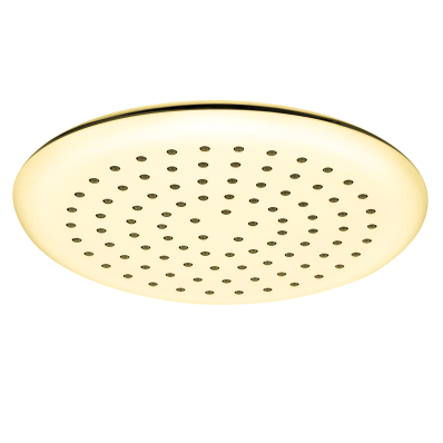 Shine Round Showerhead,  Gold