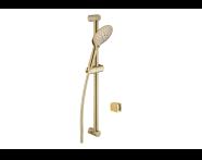 A4570223EXP - Shine Round 3F Shower Set,  Gold