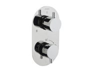 A47024EXP - Aquatech Built-in Thermostatic Bath/Shower Mixer (180° Turn - 1+3 Way Diverter)