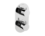 A47025EXP - Aquatech Built-in Thermostatic Bath/Shower Mixer (180° Turn - Klasik Diverter)