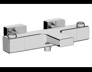 A47159 - Aquaheat Ss3 Banyo Bataryası , Krom