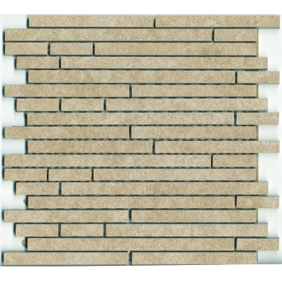 1.5x15 Pompei Cut Border Beige Matt