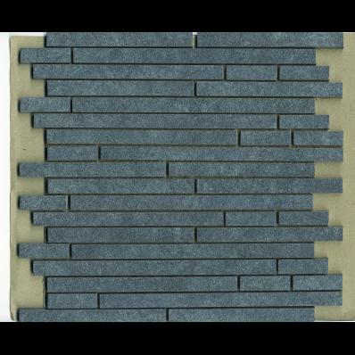 1.5x15 Pompei Cut Border Anthracite Matt