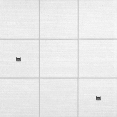 10x10 Elegant Decor 1 White Matt