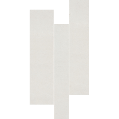 30x60 Pietra Borgogna Decor White Matt