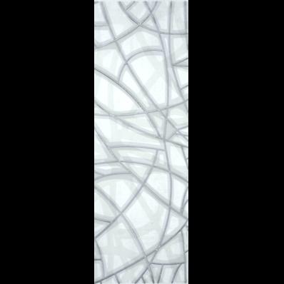 20x60 Concrete Decor 1 White Matt